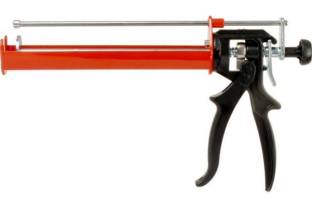 Одна из моделей пистолета-дозатора для химического анкера (для двухкорпусного картриджа)