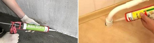 Некачественно заделанные стыки и стояки коммуникаций могут стать проводниками шума в жилое помещение.