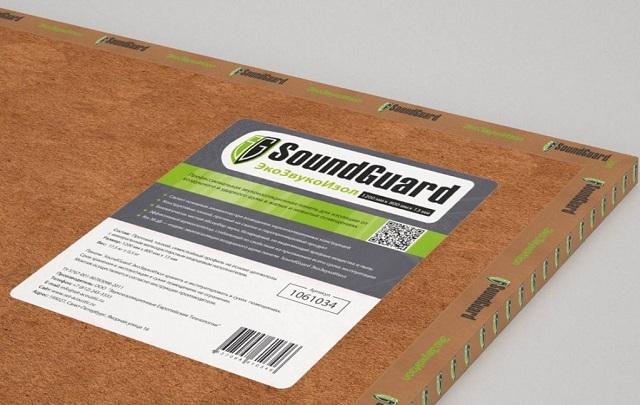 Строение плит «SoundGuard» принципиально отличается от других шумоизоляционных материалов.