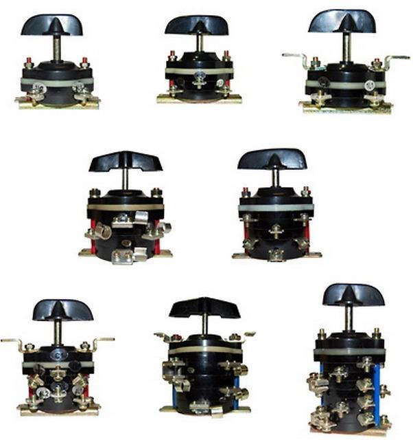 Количество пакетов в таких выключателях и переключателях может различаться. Но общая схема устройства практически не меняется.