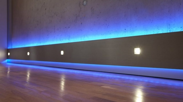 Мягкого света будет вполне достаточно, чтобы легко ориентироваться в помещении в темное время суток.