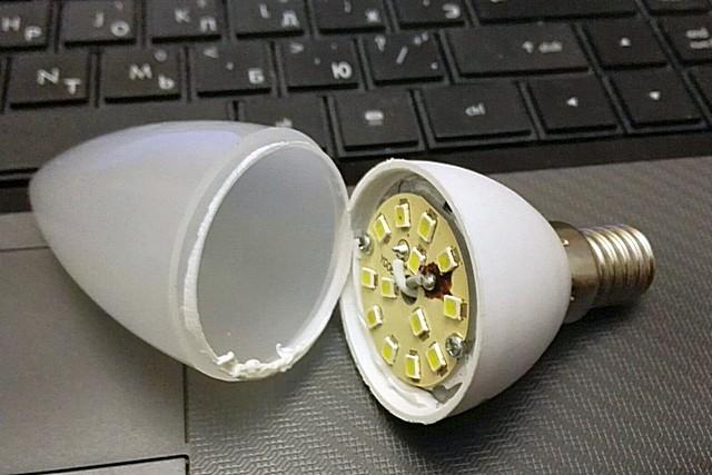 Почему перегорают светодиодные лампочки