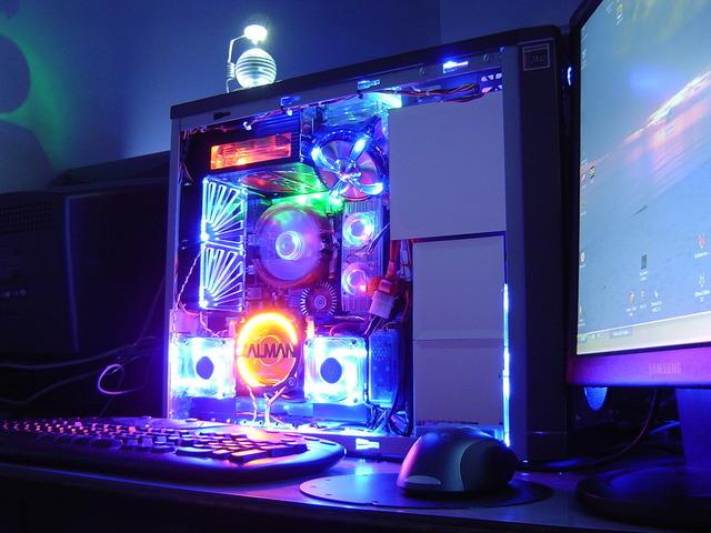 Один из вариантов организации декоративной подсветки системного блока с прозрачными стенками