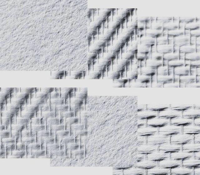 Полотна для изготовления обоев могут получаться или по ткацкой технологии, или просто прессованием волокон в холсты определенной толщины
