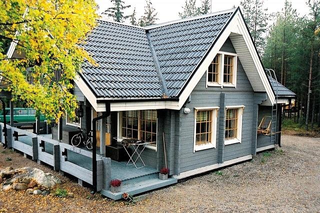 Правильно построенные каркасные финские дома служат своим владельцам не один десяток лет, даря им свой уют и тепло.