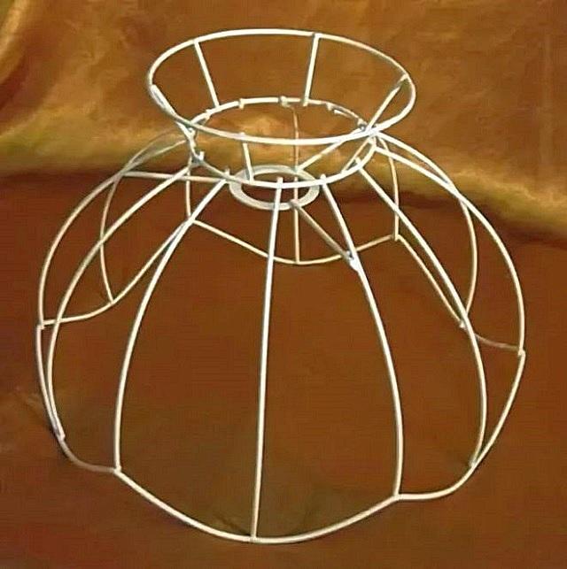 Пример каркаса для абажура.