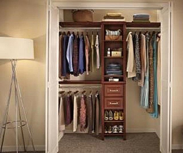 Отдельная гардеробная комната.