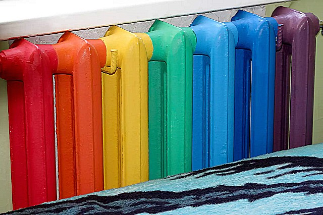 Покраска батарей своими руками подготовка технология краска
