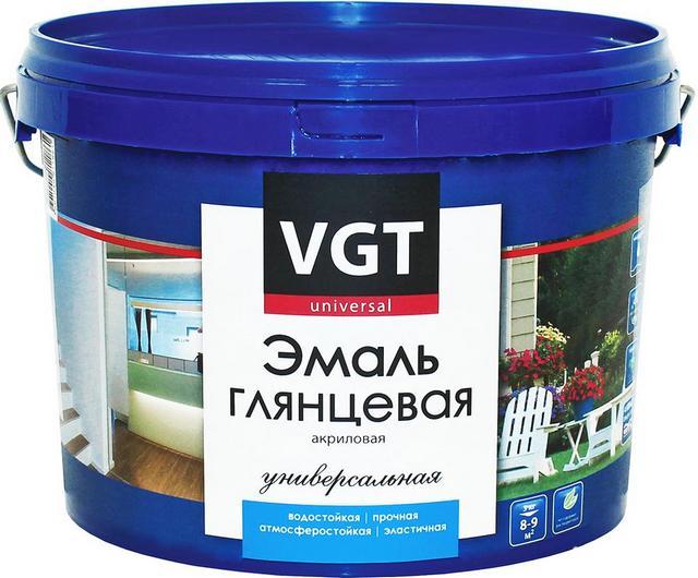 Универсальная акриловая эмаль «VGT ВД-АК-1179» в полное мере подходит и для окрашивания радиаторов отопления