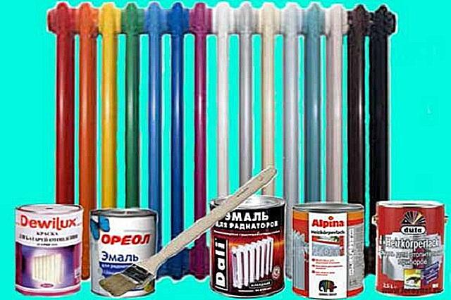 Из многообразия красок для радиаторов можно выбрать ту, которая подойдет и по характеристикам, и по цене.