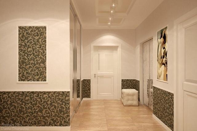 Существует ряд правил, которых следует придерживаться при выборе отделки для коридора или прихожей
