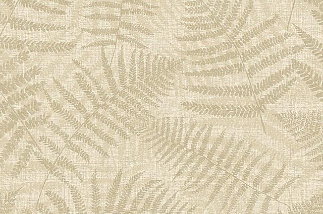 Имитация текстильной фактуры, дополненная растительными узорами