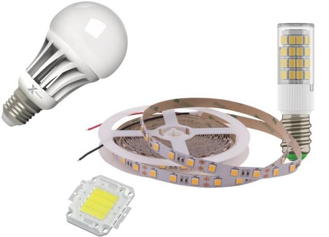 Разнообразие современных LED источников света – чрезвычайно широкое: и по размерам, и по исполнению, и по излучаемому световому потоку, и по способу подключения к электрической сети.