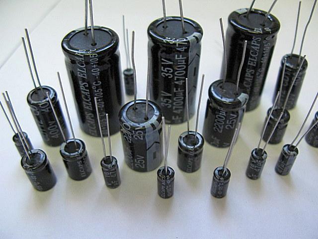 Электролитические полярные конденсаторы