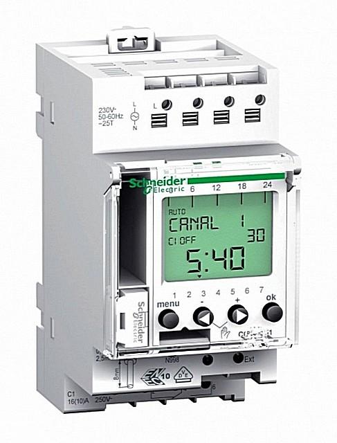 Электронное реле времени с богатым набором возможностей программирования алгоритма управления подключенными электрическими приборами или системами.