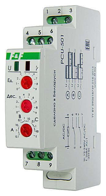 Электронное реле времени модульного исполнения с аналоговой настройкой параметров работы. Сравнительно недорого и очень часто – вполне достаточно.