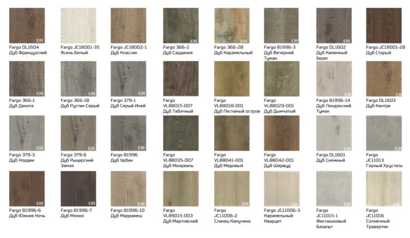 Синхротеснение на кварцевом ламинате подчеркивает благородную фактуру древесины