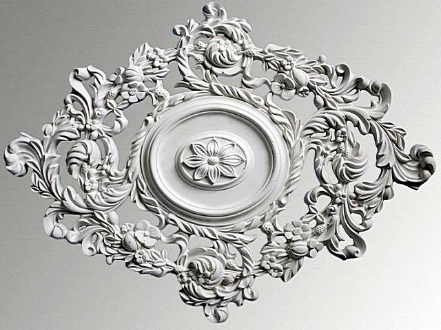 Элемент лепнины, присущий стилю «романтизм».