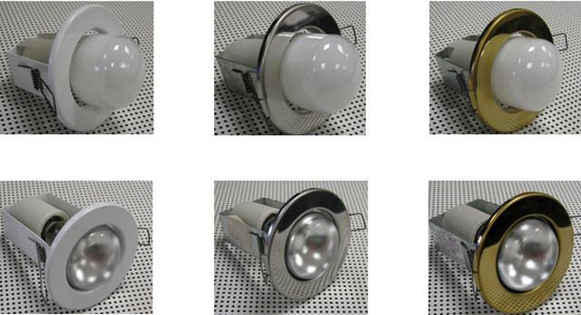 Лампы накаливания могут устанавливаться не только в люстры – многие из них рассчитаны и на применение в точечных светильниках. Но на натяжном потолке их лучше не использовать.