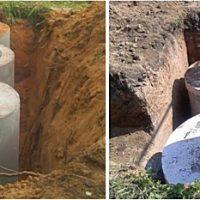 Расчет стоимости строительства септика из бетонных колец «под ключ»
