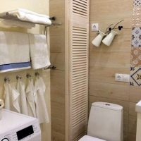 Как скрыть трубы в туалете/ванной комнате