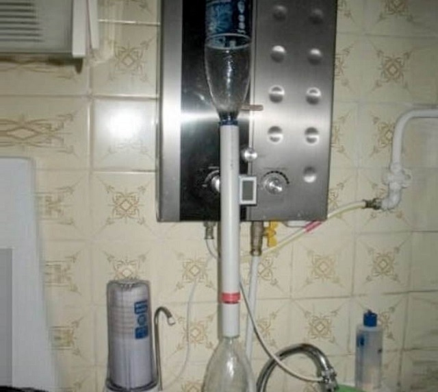 Готовый фильтр не требует особого ухода и не занимает на кухне много места.