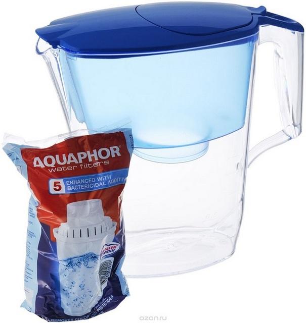 """Фильтр-кувшин для воды Аквафор """"Ультра""""."""