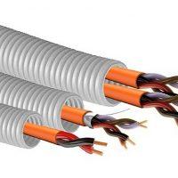 Калькулятор расчета допустимого количества кабелей в гофротрубе