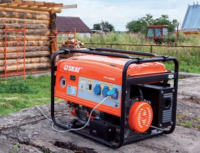 Величайшее достоинство жидко топливных генераторов – это их мобильность, возможность работы в полевых условиях, например, при ведении строительства своего загородного дома.
