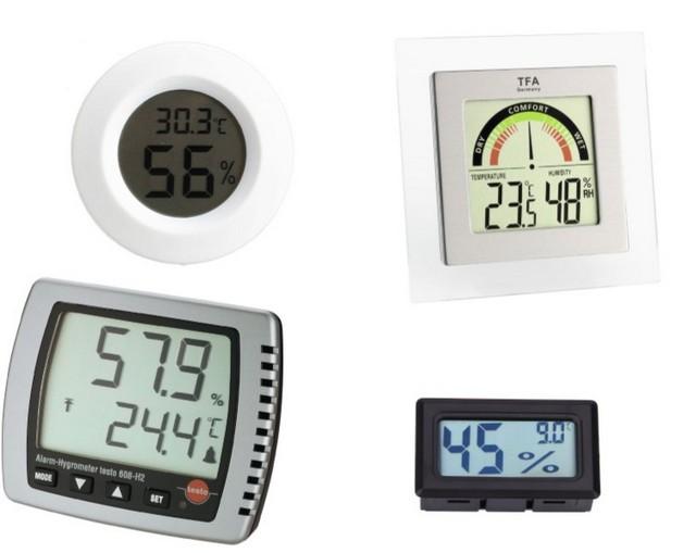 Это лишь несколько представителей из широкого разнообразия электронных измерителей влажности воздуха