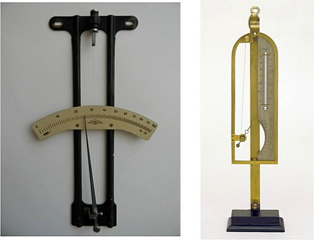 Волосяные гигрометры – настенного и настольного исполнения.