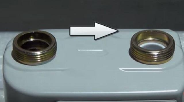 Счетчики должны устанавливаться с учетом указанного направления потока газа, проходящего через них.