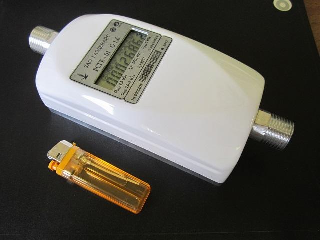 Счетчик «РСГБ-01» обладает компактными размерами и аккуратным внешним видом.