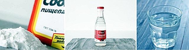 Сода, уксус и горячая вода часто весьма успешно решают проблему засора канализационной трубы.