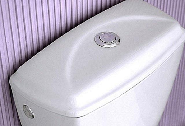 Керамический сливной бачок – обычно входит в комплект унитаза системы компакт