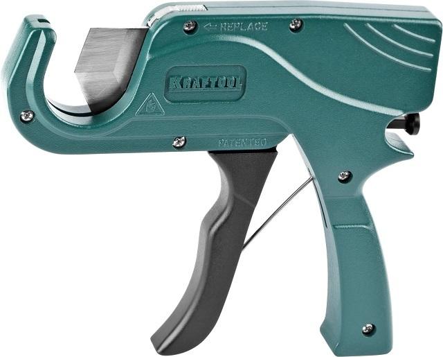 Пистолетный труборез – с таким инструментом правильно установить трубу под нож становится значительно легче.