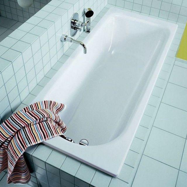 Стальные ванны – недороги и практичны, а при аккуратной эксплуатации послужат тоже немало.