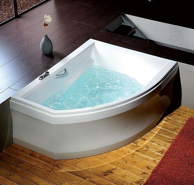 Акриловые ванны – представлены в широком разнообразии форм и размеров.