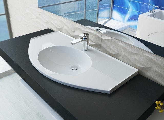 Обязательный атрибут ванной комнаты – умывальник со своей раковиной.