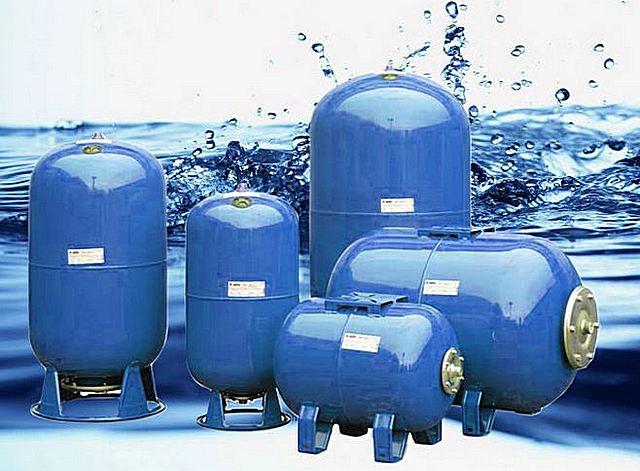 Расширительный бак для холодной воды