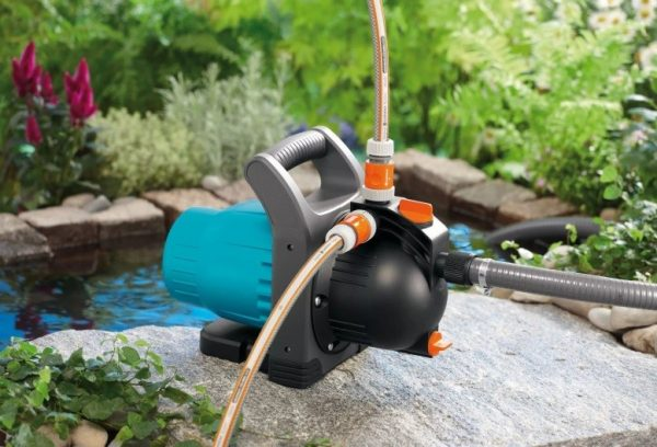 Компактный и легкий насос для полива огорода