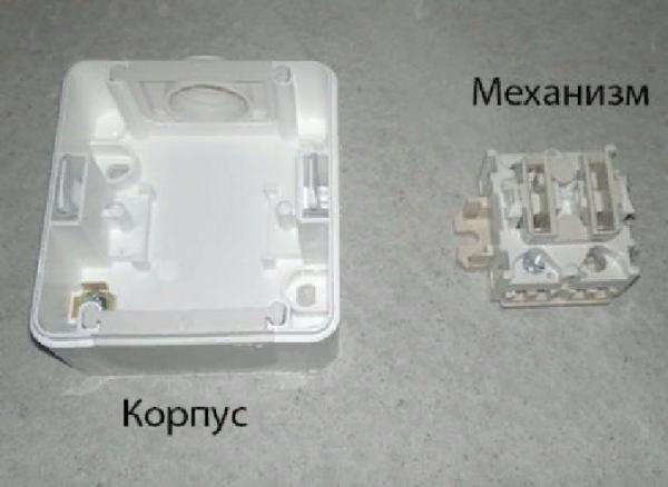 Внутренний узел не фиксируется внутри на защелки или другие элементы, поэтому быстро демонтируется