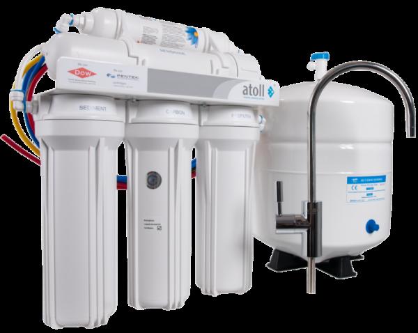 Обратный осмос – комплексное оборудование, очищающее воду очень качественно