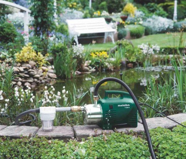 Компактный помощник для полива огорода