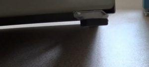 Шаг 6 – подстройка регулировочных ножек