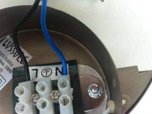 Электросхема подключения люстры к двойному выключателю