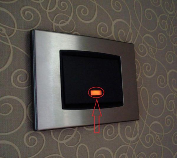 Выключатель с дополнительной подсветкой