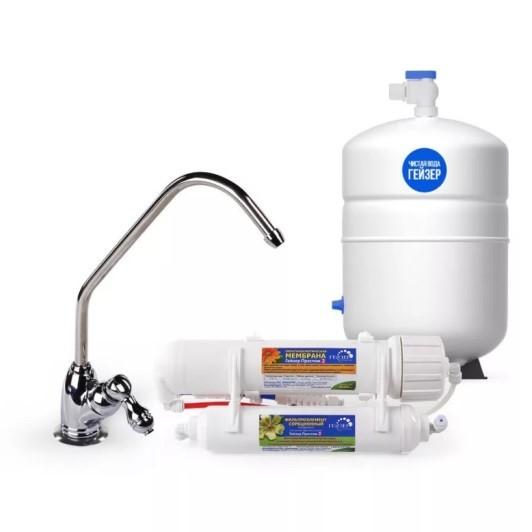 Накопительные фильтры подразумевают сбор жидкости в специальные емкости для ее последующего разбора