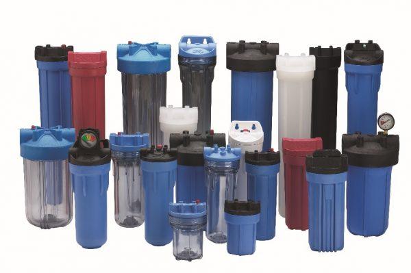 Многообразие магистральных фильтров – на некоторых стоят регуляторы давления