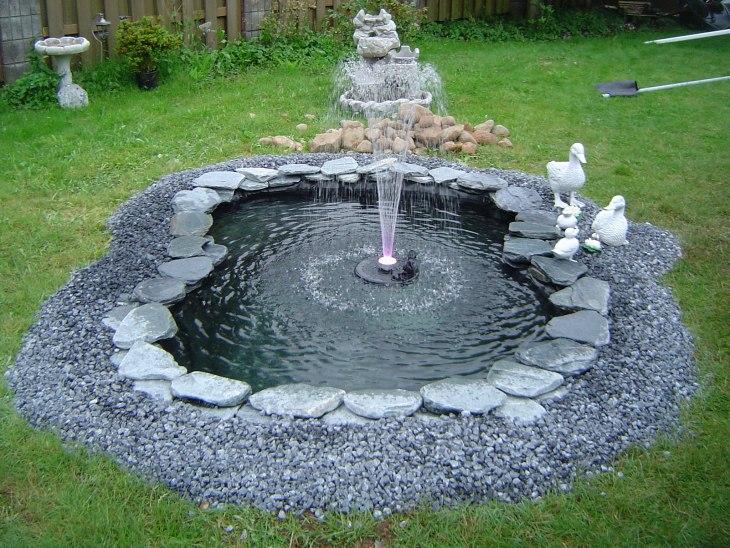 Выбор места для фонтана имеет большое значение